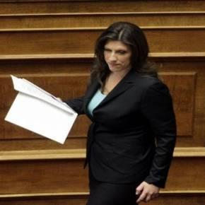 «Βαριές» δηλώσεις κατά της κυβέρνησης από την Πρόεδρο της Βουλής Ζ.Κωνσταντοπούλου (vid)