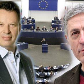 Συνέντευξη με τους δύο πρώην δημοσιογράφους και νυν ευρωβουλευτές του ΣΥΡΙΖΑ και της ΝΔ Κούλογλου και Κύρτσος μιλούν στο e-typos.com για τα λάθη της κυβέρνησης και το μέλλον τηςΕλλάδας