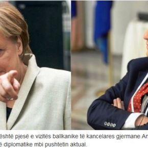 Η Μέρκελ αγνόησε τα Σκόπια στην επίσκεψή της στα ΔυτικάΒαλκάνια