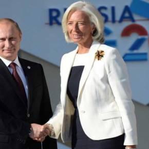 ΠΡΩΤΗ ΦΟΡΑ ΠΟΥ Η ΜΟΣΧΑ ΠΑΡΕΜΒΑΙΝΕΙ ΣΤΟ ΔΝΤ ΥΠΕΡ ΞΕΝΟΥ ΚΡΑΤΟΥΣ EKTAKTO: Ο Β.Πούτιν μίλησε με Κ.Λαγκάρντ και ζήτησε «κούρεμα» του ελληνικούχρέους!