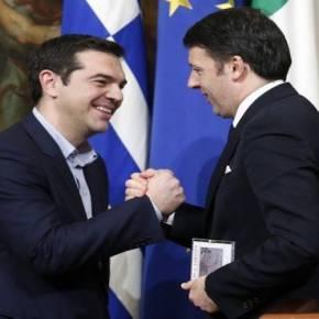 Ο ΜΕΧΡΙ ΣΗΜΕΡΑ «ΣΥΜΒΙΒΑΣΜΕΝΟΣ» ΙΤΑΛΟΣ ΠΡΩΘΥΠΟΥΡΓΟΣ ΖΗΤΕΙ ΛΥΣΗ ΓΙΑ ΤΗΝ ΕΛΛΑΔΑ «ΕΔΩ ΚΑΙ ΤΩΡΑ»»Eπαναστάτησε» και η Ιταλία! – Εξέγερση από τον M.Ρέντσι: «Οριστική λύση για την Ελλάδα αύριο – Απαιτείται η Ευρώπη νααλλάξει»