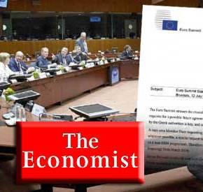 ΠΡΟΒΛΕΨΗ-ΣΟΚ ΑΠΟ ECONOMIST: Θα βγουν μαχαίρια στην Αθήνα – Χειρότερη η συμφωνία από αυτή που απέρριψε ηκυβέρνηση