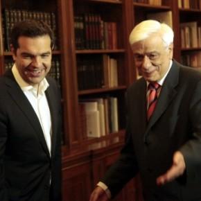 Μήνυμα Παυλόπουλο και Τσίπρα για παραμονή στο ευρώ και άμεσασυμφωνία