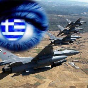 Κεραυνοβόλα η αντίδραση των Ελληνικών F-16 σε εισβολή έξι (6) ΤούρκικωνΜαχητικών!