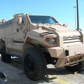 Τα κατασχεμένα MRAP παραδόθηκαν στον ΕλληνικόΣτρατό