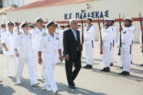 Παρουσία ΑΝΥΕΘΑ Δημήτρη Βίτσα στην ορκωμοσία ναυτών Δ' ΕΣΣΟ2015