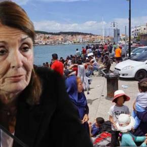 Λαθρομετανάστες πυρπολούν αυτοκίνητα καισκάφη