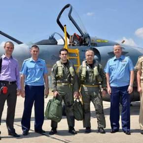 Με τους «Δελτάδες της Τανάγρας» οι Αξιωματικοί της Ρώσικης Πολεμικής Αεροπορίας!