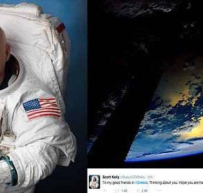 ΕΚΠΛΗΚΤΙΚΟ! Αμερικανός αστροναύτης στέλνει μήνυμα στην Ελλάδα από τοδιάστημα!