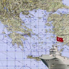 ΚΙΝΔΥΝΟΣ! Υπάρχει πιθανότητα τo ελικοπτεροφόρo Mistral να πλέει στο Αιγαίο Πέλαγος για λογαριασμό του τουρκικούναυτικού!