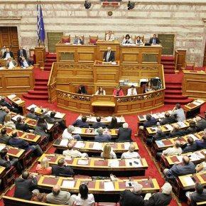 Επεισοδιακό το άνοιγμα του Κοινοβουλίου Σήμερα η μέρα της κρίσης στη Βουλή για το τρίτοΜνημόνιο