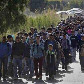 Στους 11.000 έφτασαν οι μετανάστες και πρόσφυγες στηΜυτιλήνη