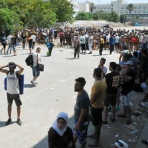 Δρομολογείται η επιβίβαση των προσφύγων στο «ΕλευθέριοςΒενιζέλος»