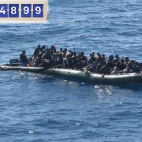 Οι αριθμοί είναι αμείλικτοι: 54.899 λαθρομετανάστες σ΄ ένα μήνα έφτασαν στηνΕλλάδα!