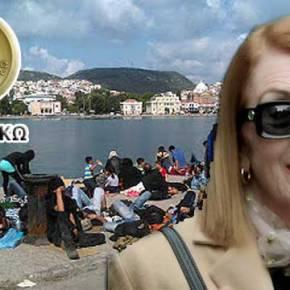 ΣΚΟΝΗ και ΘΡΥΨΑΛΑ κάνει την κυρά Τασία ο Δήμαρχος της Κω για τουςμετανάστες