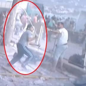 Εκτός ελέγχου οι λαθρομετανάστες στη Λέσβο: Άγριες συμπλοκές μεταξύ τους στο λιμάνι[βίντεο]