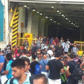 Η Εισβολή των λάθρο: Στον Πειραιά το «Ελ. Βενιζέλος» με 2.172 μετανάστες – Κοντεύουν τους 10.000 στηΛέσβο!