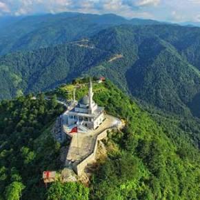 Εμβληματικό Τζαμί στην κορυφή βουνού της Τραπεζούντας κατασκεύασαν οιΤούρκοι!