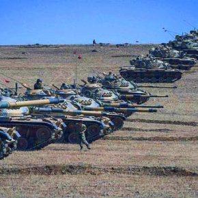 Τουρκικά στρατεύματα εισέβαλαν στην Β.Συρία για να βοηθήσουν την Ταξιαρχία των Τουρκμένωνισλαμιστών!