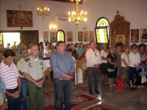 Παρουσία του Στρατηγού Φράγκου η Θεία λειτουργία του Ι.Ν Αγ.Γεωργίου …ΣταΠομακοχώρια!
