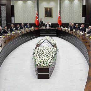 Συνεδρίασε το Συμβούλιο Εθνικής Ασφαλείας της Τουρκίας …ΠαρουσίαΓερακιών!