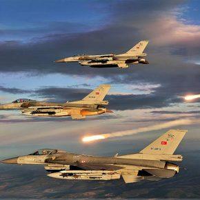 21 Τούρκικα μαχητικά βομβάρδισαν Κούρδους στο έδαφος του ΒορείουΙράκ!