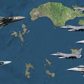 Χαμός σήμερα σε όλο το Αιγαίομε 20 Μαχητικά ,Ε/Π και 3 CN-235 στον αέρα! …Εννιά (9) απο αυτάΟπλισμένα!