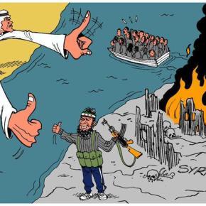 Οι χώρες του Κόλπου «σπρώχνουν» τα εκατομμύρια των προσφύγων για να ισλαμοποιήσουν τηνΕυρώπη!