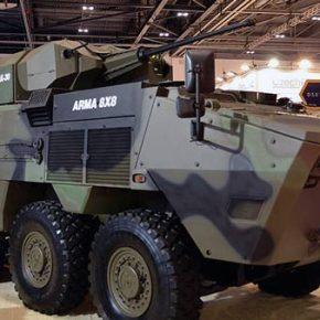Νέο τουρκικό τροχοφόρο ΤΟΜΑ ARMA 8X8 έχει να αντιμετωπίσει ο ελληνικόςστρατός