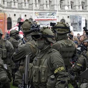 Kαθολική συνδρομή του αυστριακού στρατού στον έλεγχο τωνσυνόρων