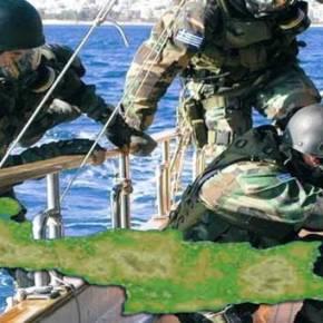 Ειδική επιχείρηση σε πλοίο κατάφορτο με όπλα και εκρηκτικά νοτίως της Κρήτης πραγματοποιεί τοΛιμενικό