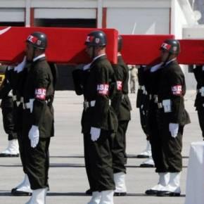 «Ποταμοί» αίματος στην Τουρκία – Δεκάδες Τούρκοι στρατιώτες νεκροί μέσα σε τρειςημέρες