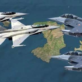 ¨Εκοψαν κώλους τα Ελληνικά F-16 της Λήμνου , σήμερα το πρωί νότια της Χίου!