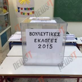 Επικράτηση ΣΥΡΙΖΑ με 7,5 μονάδες διαφορά από τη ΝΔ – 8κομματική Βουλή Επίσημη εκτίμηση του υπουργείουΕσωτερικών