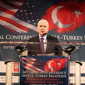 Γερουσιαστής Μακέιν: «Ο τουρκικός στρατός διαδραματίζει «ουσιαστικό ρόλο» στην ασφάλεια της ΜέσηςΑνατολής!