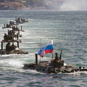 Από την Ρωσία με αγάπη: Η 810η Ταξιαρχία Πεζοναυτών του Στόλου της Μαύρης Θάλασσας μαζί με Spetsnaz σπεύδει στη Συρία(vid)