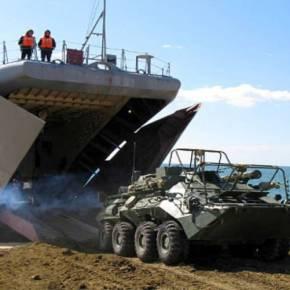 Φωτό-ντοκουμέντο: Η 810η Ταξιαρχία Ρώσων Πεζοναυτών του Στόλου της Μαύρης Θάλασσας αποβιβάζεται στην Συρία (vid,upd)