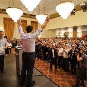 Ολομέτωπη επίθεση Τσίπρα στον Μεϊμαράκη «Ο πρόεδρος της ΝΔ με το κόμμα του είναι εκπρόσωποι της καθυστέρησης, της διαπλοκής, των σκανδάλων», ανέφερε ο πρόεδρος τουΣΥΡΙΖΑ