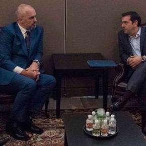 Τα εκκρεμή ζητήματα Ελλάδας – Αλβανίας στη συνάντηση Τσίπρα – Ράμα «Η ΕΛΛΑΔΑ ΘΑ ΒΡΙΣΚΕΤΑΙ ΣΤΟ ΠΛΕΥΡΟΣΑΣ»