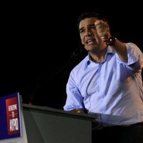 Αλ.Τσίπρας: Οχι σε συνεργασία με ΝΔ, Πάγκαλο, Βενιζέλο ανοιχτά όλα τα άλλα Νέα τακτική του ΣΥΡΙΖΑ εγκαινιάστηκε στο Αιγάλεω εν όψειεκλογών