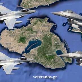 Κυκλώνουν και απο αέρα τη ν.Λέσβο οι Τούρκοι …Εμπλοκές Οπλισμένων μαχητικών!
