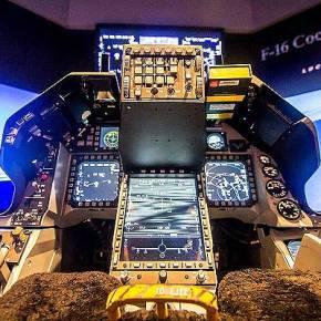 F-16V SIMULATOR– Η πρόταση προηγμένης διαμόρφωσης πιλοτηρίου F-16 για τηνΠΑ