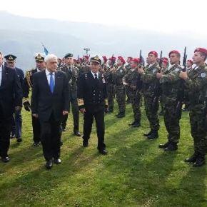 Παρουσία Πολιτικής και Στρατιωτικής ηγεσίας ΥΠΕΘΑ στις εκδηλώσεις τιμής και μνήμης στο ΟχυρόΡούπελ