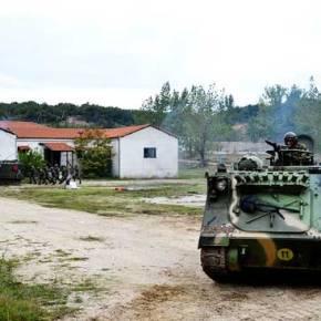 Επέλαση Τεθωρακισμένων Οχημάτων και Έφοδος Μαχητών εντός Κατοικημένων Περιοχών ! (φώτο) «ΤΑΜΣ της XVI Μ/ΚΜΠ»