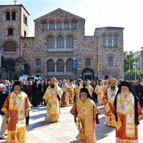 Με Μεγαλοπρέπεια η Λιτάνευση της εικόνας του Αγίου Δημητρίου τουΜυροβλήτη!