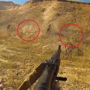 Βίντεο-σοκ: Εκπαίδευση μάχης με πραγματικά πυρά…(UPD)