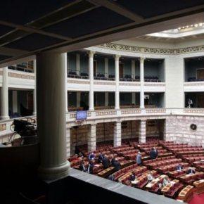 Σύσσωμη η αντιπολίτευση καταψηφίζει τηνκυβέρνηση