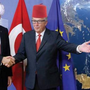 ΧΟΝΤΡΑΙΝΟΥΝ ΤΟ ΠΑΙΧΝΙΔΙ ΑΣΧΗΜΑ – Και ο Γιούνκερ βάζει τους Τούρκους στοΑιγαίο