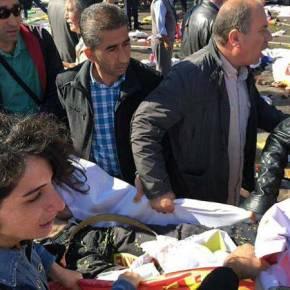 Φωτογραφίες και βίντεο που σοκάρουν από το μακελειό στηνΆγκυρα