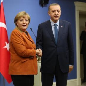 Ερντογάν σε Μέρκελ: Γιατί δεν μας βαζετε στηνΕΕ;